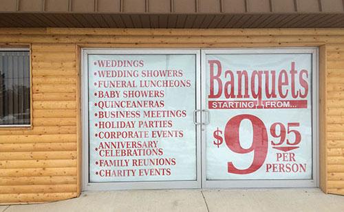 banquets-sign